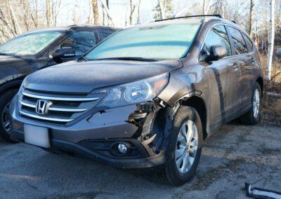 002a Honda CRV Damaged Photo