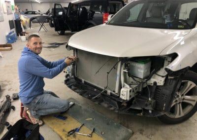 Bumper Repair by Authentic Auto Body
