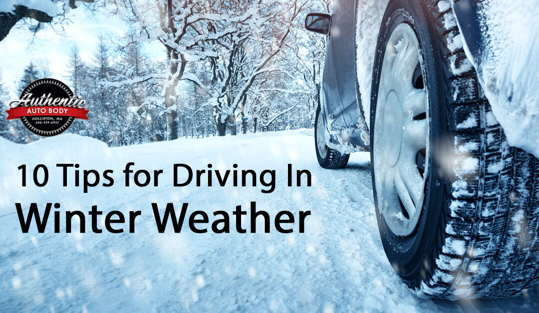 10 Tips for Driving in Winter Weather